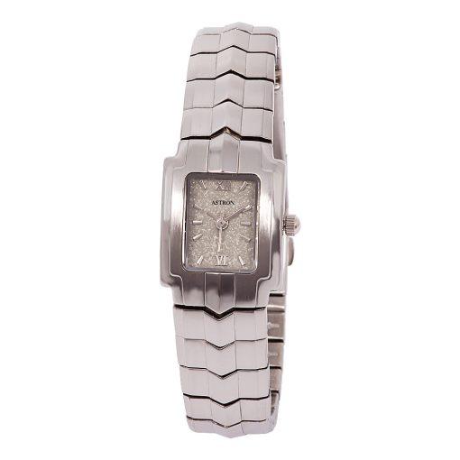 ASTRON 5067-8 női karóra, ezüst színű nemesacél tok, ezüst színű nemesacél csat, gyöngyház színű számlap, keményített ásványüveg, quartz szerkezet, cseppmentes vízállóság