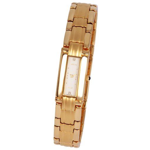 ASTRON 5176-9 női karóra, ékszeróra, arany színű nemesacél tok, arany színű fémcsat, arany színű számlap, keményített ásványüveg, quartz szerkezet, cseppmentes vízállóság