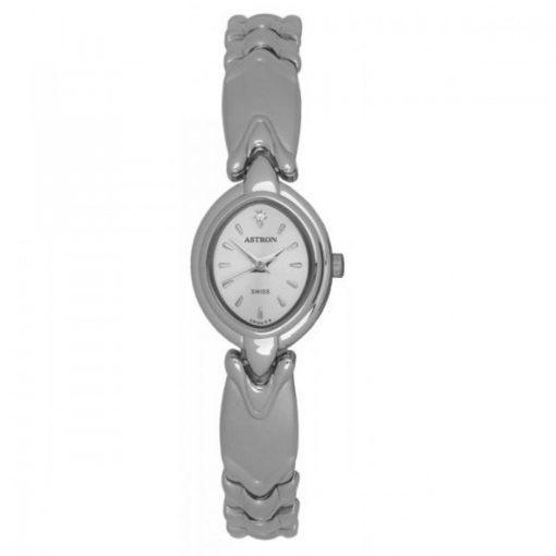 ASTRON 5190-8 analóg ékszeróra|női karóra, ezüst színű fém tok, ezüst színű fém szíj/csat, ezüst színű számlap, keményített ásványüveg, quartz szerkezet, cseppmentes vízállóság