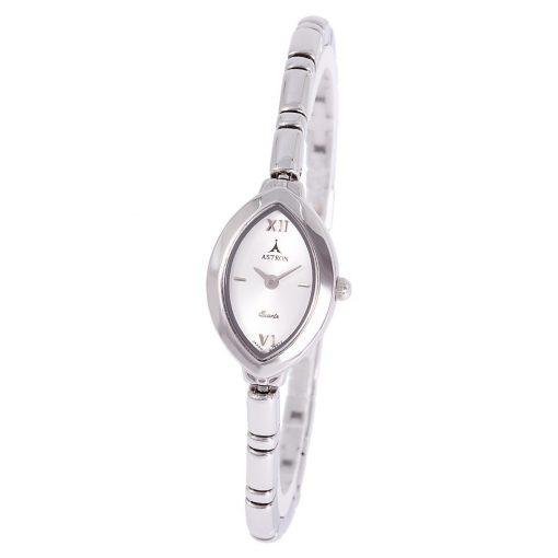 ASTRON 5192-7 analóg női karóra, ezüst színű fém tok, ezüst színű fém szíj/csat, ezüst színű számlap, keményített ásványüveg, quartz szerkezet, cseppmentes vízállóság