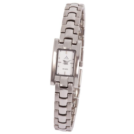 ASTRON 5193-7 női karóra, ezüst színű nemesacél tok, ezüst színű nemesacél csat, fehér számlap, keményített ásványüveg, quartz szerkezet, cseppmentes vízállóság