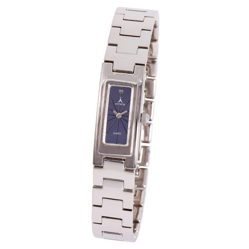 ASTRON 5256-2 női karóra, ezüst színű fém tok, ezüst színű fémcsat, kék számlap, keményített ásványüveg, quartz szerkezet, cseppmentes vízállóság