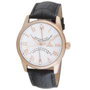 Astron 5507-8 ceas de bărbați cu curea din piele, quartz, carcasă roze